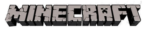 The Minecraft logo.