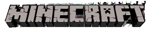 The Minecraft logo.