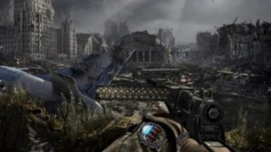The ammunition in Metro: Last Light is shown directly as bullets in the clip, without numbers.